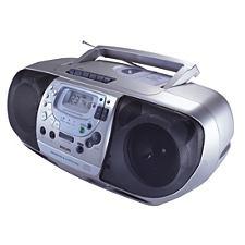 I used the Philips AZ1518 indoor radio from 1999-2003.