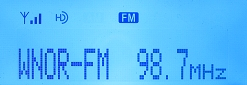 HD Radio decode from 98.7 WNOR Norfolk on 6/23/08 while local WMZQ was on low power.