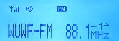 HD Radio/IBOC decode from 88.1 WUWF Pensacola, FL at 794 miles on 6/23/08.