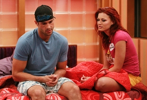 Brendon (left) and Rachel (right) were a powerhouse showmance alliance on BBUS series 12 and 13.  The couple later married after starring on the sow.  CREDIT: CBS.